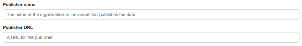 Step 9: Add publication details to your dataset
